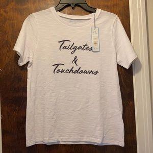 Draper James Tailgates & Touchdowns Tee